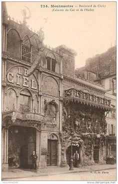 Cabaret du Ciel et de L'Enfer - Montmartre fin 1800