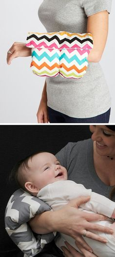 Baby support arm pillow
