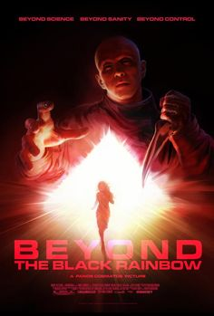 Set in the strange and oppressive emotional landscape of the year 1983, BEYOND THE BLACK RAINBOW is a Reagan-era fever dream inspired by hazy childhood memories of midnight movies and Saturday morning cartoons.