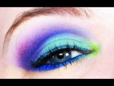 Speed Freak- Bright Makeup Tutorial!