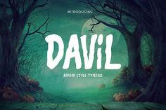 Davil Typeface @creativework247
