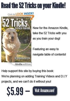 52 tricks to teach your dog from basic to advanced all with clicker training for pups as well as adult dogs!