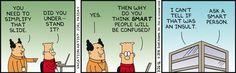 Simplify The Slide -  Dilbert Comic Strip on 2016-03-26 | Dilbert by Scott Adams