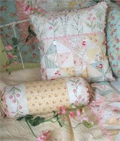 French Cottage Garden Pillows - to die for!