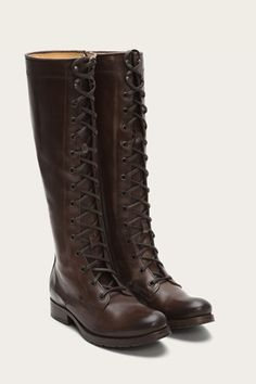 Shop handcrafted leather boots for women, including iconic styles from Frye. Cheap Boots, Cool Boots, Fancy Shoes, Cute Shoes, Riding Boots, Combat Boots, Best Winter Boots, Boot Brands, Designer Boots