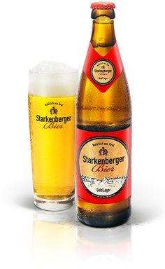 Starkenberger goldlager Bier GoldLager ist ein 12grädiges Bier, welches nicht zu herb und leicht zu trinken ist. #Starkenberger #Bier #Lager