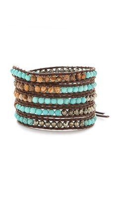 Chan Luu Beaded Wrap Bracelet  SHOPBOP