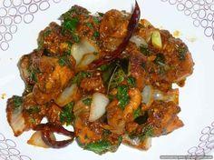 Chennai style chicken fry masala