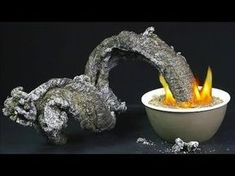 to Make a Fire Snake from Sugar & Baking Soda Food Hacks Daily - Chemical R. -How to Make a Fire Snake from Sugar & Baking Soda Food Hacks Daily - Chemical R. Science Party, Preschool Science, Teaching Science, Science Activities, Activities For Kids, Crafts For Kids, Expirements For Kids, Party Activities, Science Education