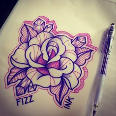 Rose by fizzink