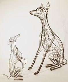 Sculpture filaire