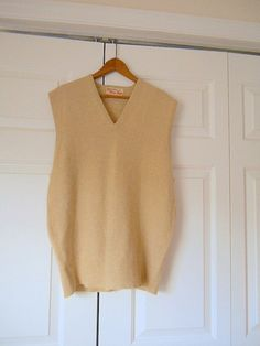 Vintage LLBean Cashmere Vneck Sweater by houuseofwren on Etsy ...
