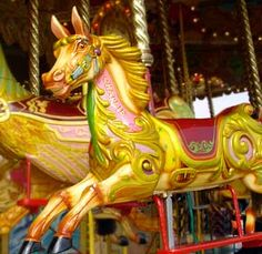 Picture showing Carousel Horse