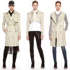 DKNY Convertible Trench Coat #wardroberemix #wardrobebasic