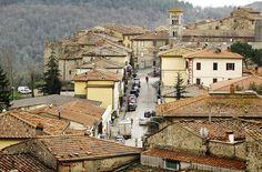 Tuscany, Italy.  This is Castellina in Chianti.