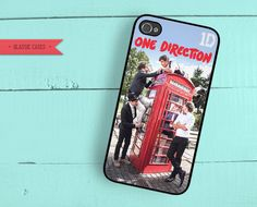 iPhone 5 One Direction iPhone 4 Case iPhone 4s by QlassicCases, $16.00