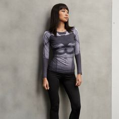 Cool Batman 3D Printed Compression Long Sleeves Woman Workout T-shirt  #Cool #Batman #3D #Printed #Compression #Long #Sleeves #Woman #Workout #T-shirt