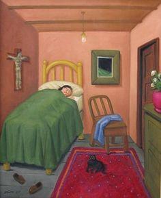 19/04/1932 : Fernando Botero, peintre colombien.