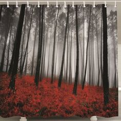 SHARE & Get it FREE | Forest Print Polyester Shower Curtain with HookFor Fashion Lovers only:80,000+ Items·FREE SHIPPING Join Dresslily: Get YOUR $50 NOW!