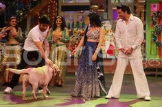 SOLARIS IMAGES::Sunny Leone on the sets of The Kapil Sharma Show details