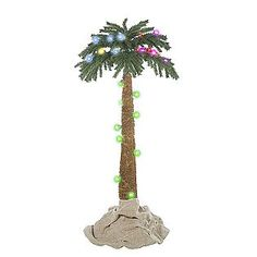 -5 Ct. Color Changing Palm Tree Christmas Décor