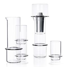 Tower Glassware by Sebastian Bergne | Read more: http://mocoloco.com/archives/027677.php