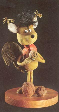 Foky Ottó bábfigurái - Misi mókus Naha, Retro, Nostalgia, Childhood, Teddy Bear, Toys, Hungary, Budapest, Animals