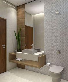 - Home Theater Bathroom Design Luxury, Modern Bathroom Decor, Bathroom Layout, Modern Bathroom Design, Simple Bathroom Designs, Small Bathroom, Home Entrance Decor, Washbasin Design, Toilet Design