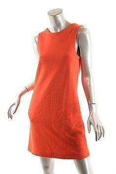 Lisa Perry short dress Red Wool Knit Sheath on Tradesy
