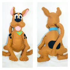 Scooby Doo em feltro -  by Anapsiana
