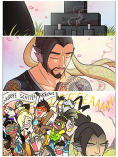 RIP scatter arrow, but now we have quick arrow so woo! Overwatch Funny Comic, Overwatch Memes, Overwatch Fan Art, Video Games Funny, Funny Games, Geeks, Team Fortress, Funny Comics, Pokemon