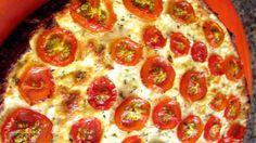 Torta de Tomate e Ricota
