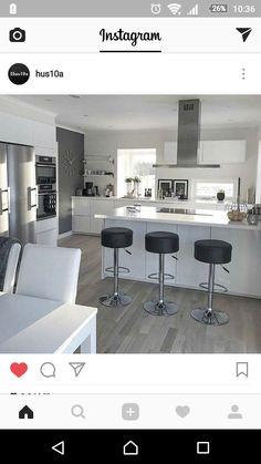 Decor, Kitchen Interior, House Design, House, White Living, Interior, Home Decor, Interior Design, Kitchen Design