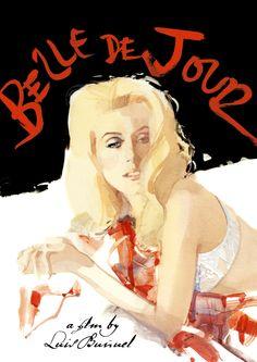 Belle de Jour by David Downton for Criterion Collection.