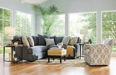 Potential grey sectional sofa from mealeys