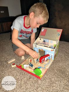 HABA Toys for the Holidays Review & Giveaway (US) @Stacie Vaughan {SimplyStacie.net} @HABA USA