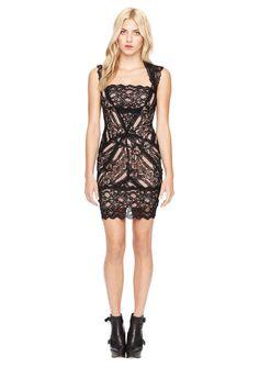 Eva Black Lace Dress Women S Designer Clothes Nicole Miller Official Site