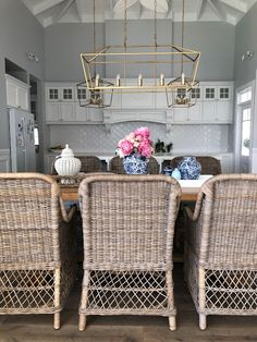 Our Hampton style home tour of the week. Showcasing a beautiful Australian home every Thursday Hamptons Style Homes, Hamptons House, The Hamptons, Pool House Designs, Buy Kitchen, Kitchen Paint, Kitchen Tools, Kitchen Ideas, Grey Exterior