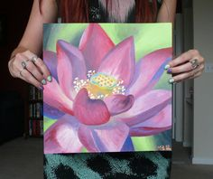 loutus flower artwork. beautiful