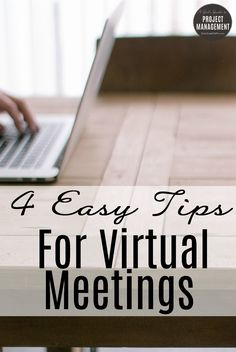 Working with a virtual team? You need these easy tips for better virtual meetings! Business Management, Management Tips, Project Management, Meet The Team, A Team, Team Leader, Effective Meetings, Staff Meetings, Professional Development
