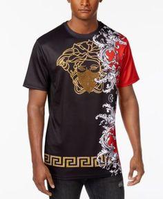 Hudson NYC Men s Beaded Graphic-Print T-Shirt Men - T-Shirts - Macy s 5a96e5faa2bb