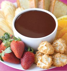 Chocolate Fondue from Deceptively Delicious by Jessica Seinfeld