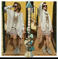 Boho chic style by Cuca