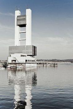 A Coruña de cristal. Galicia. Spain.