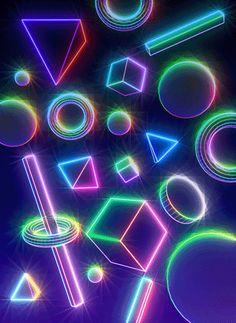 May 28 2017 at from acidholic New Retro Wave, Retro Waves, Vaporwave Gif, Cool Optical Illusions, Graphic Wallpaper, Retro Futurism, Retro Art, Neon Lighting, Neon Colors