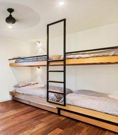 aménager une chambre avec lit mezzanine moderne idée