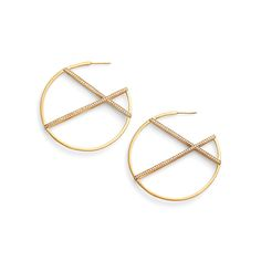Dean Davidson Continuous Hoop Earrings
