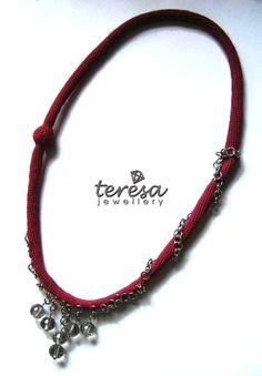 wonderful crochet jewellery www.teresadegleri.com Crochet Jewellery, Diy Jewellery, Fashion Jewellery, Handmade Jewelry, Fiber, Jewels, Personalized Items, Ideas, Necklaces
