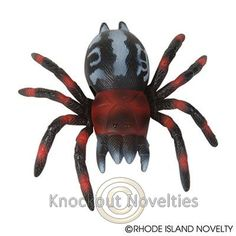 "4"" Wall Walking Spider Funny Novelty Gag Gift White Elephant Prank"