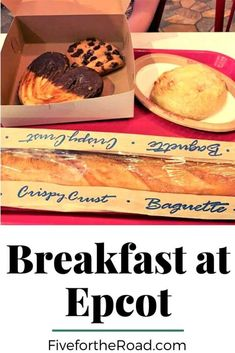Where to Eat Breakfast at Epcot | Epcot Breakfast options during your Disney World vacation. | Family of Five Family Travel Places To Eat Breakfast, Breakfast Options, Disney Vacation Planning, Walt Disney World Vacations, Cheese Bread Rolls, Frozen Ever After, Starbucks Locations, French Bakery, Disney World Tips And Tricks